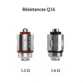 RESISTANCES x5 - Q16 - JUSTFOG