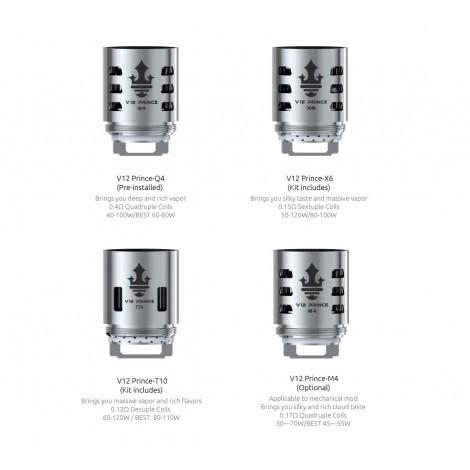 RÉSISTANCES x3 - TFV12 PRINCE - SMOK