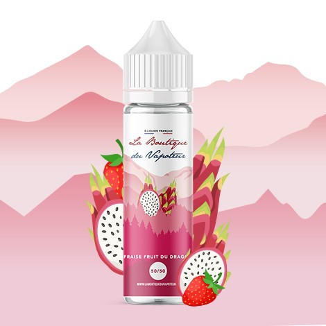 FRAISE FRUIT DU DRAGON - 50 ML